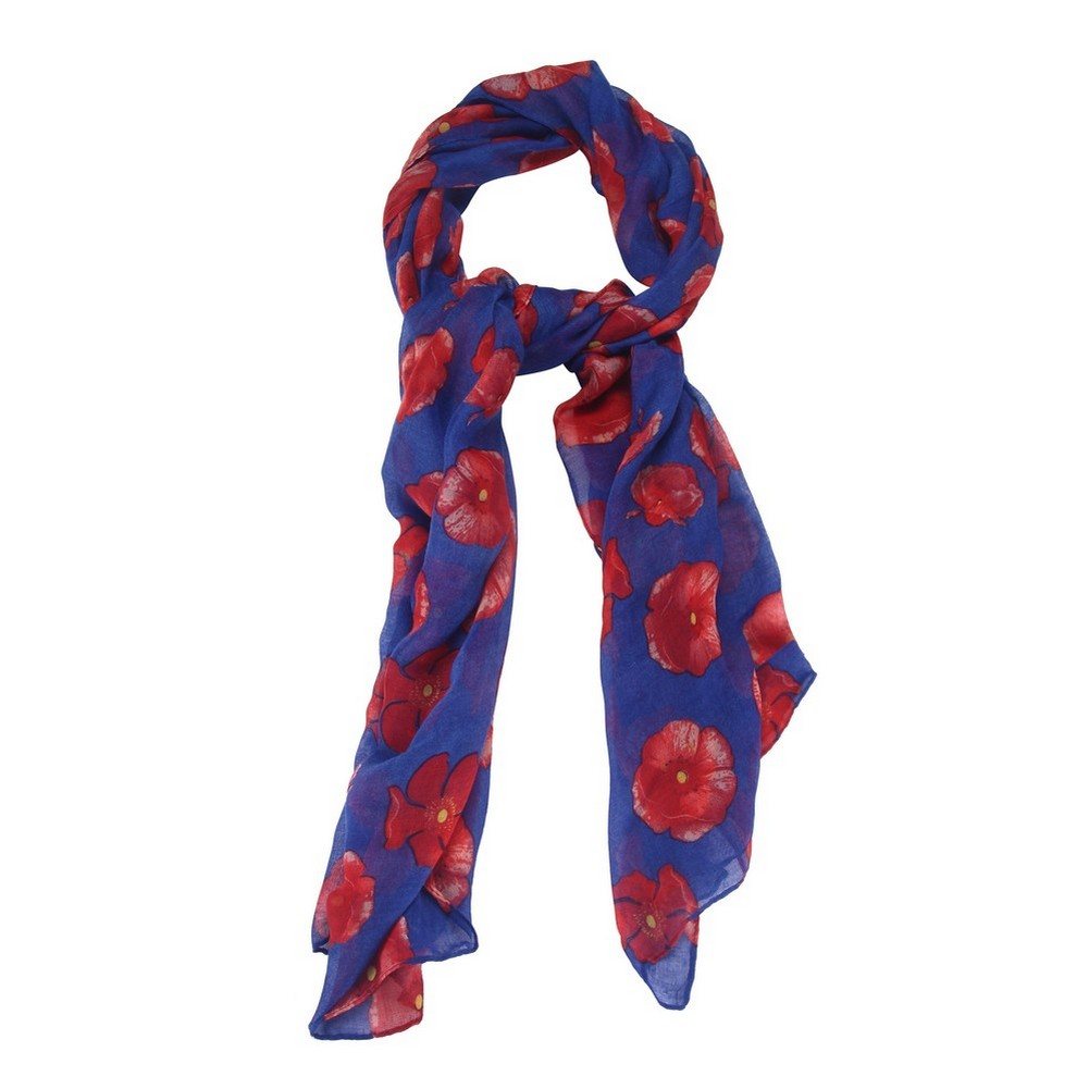 Scarf Poppy Made With Polyester by JOE COOL