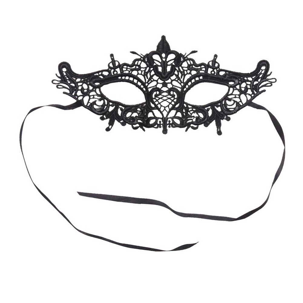 Gift Dark Lady Masquerade Mask Made With Polyester by JOE COOL