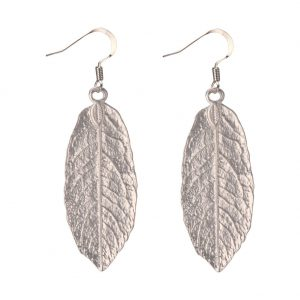 Drop Earring Autumn Leaf Made With Tin Alloy by JOE COOL