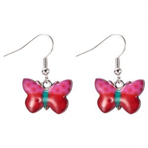Drop Earring Flutter By Butterfly Made With Zinc Alloy & Iron by JOE COOL
