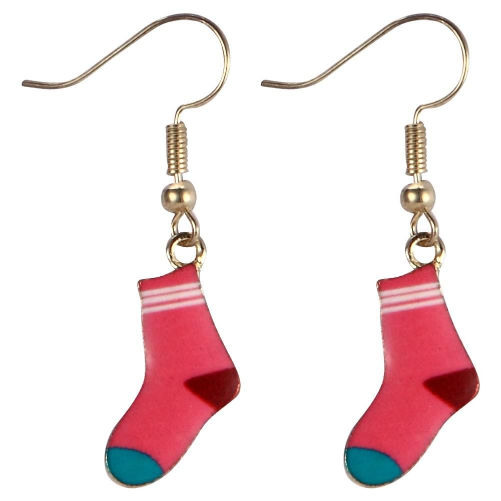 Drop Earring Socks On Made With Tin Alloy & Iron by JOE COOL