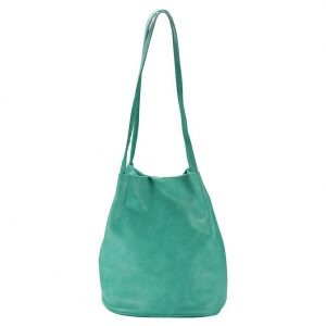 Shoulder Bag Nubuck Effect Classic Made With Pu by JOE COOL