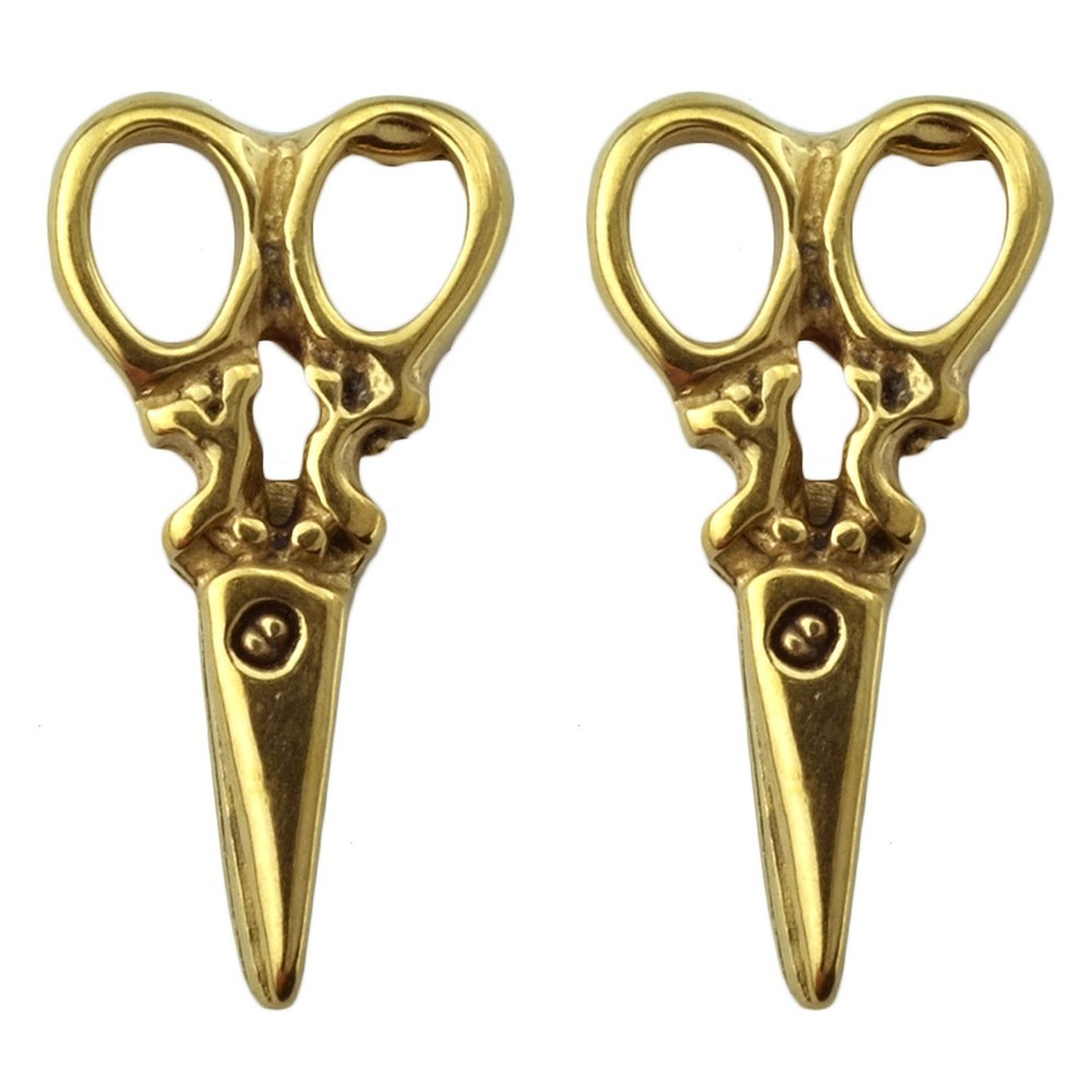 Stud Earring Dressmakers Scissors Made With Surgical Steel by JOE COOL