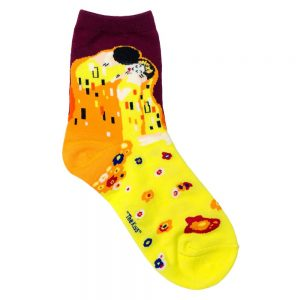 Socks Klimt The Kiss Made With Cotton & Spandex by JOE COOL