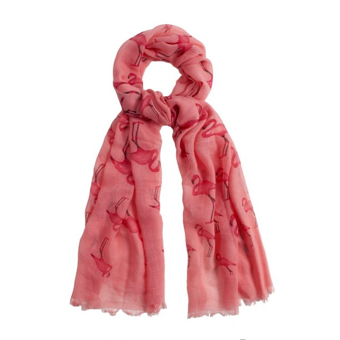 Scarf Flamingo Made With Polyester by JOE COOL