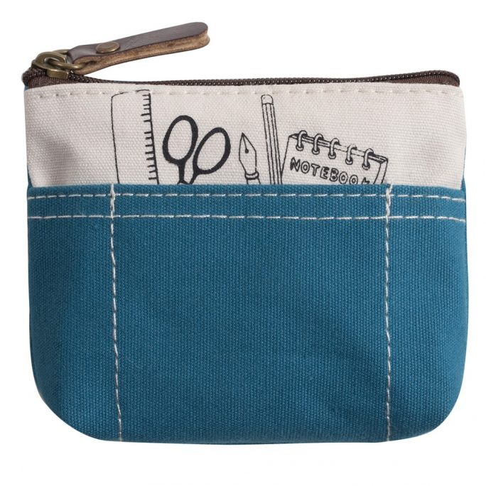 Coin Purse Tool Kit Print Stationery Made With Cotton by JOE COOL