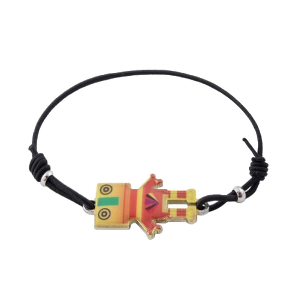 Bracelet Friendly Robot Made With Enamel & Tin Alloy by JOE COOL