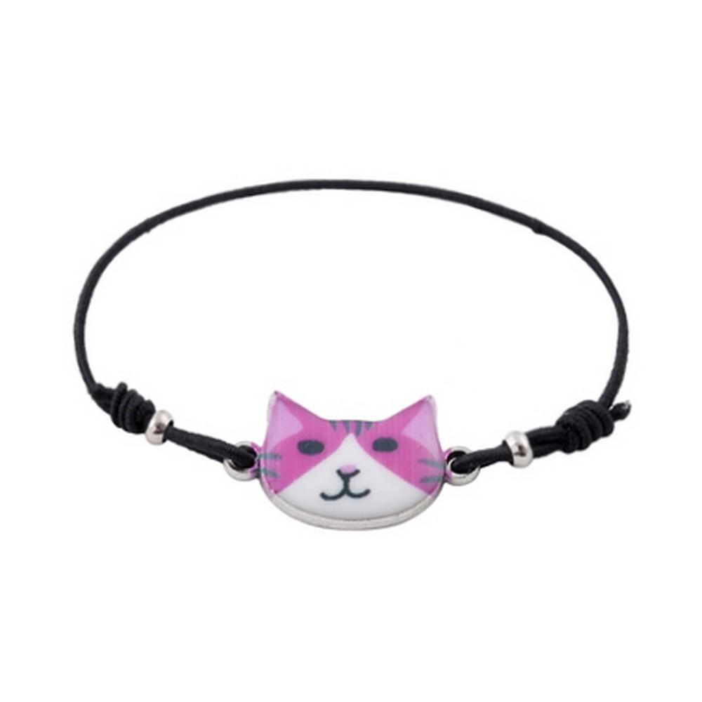 Bracelet Crafty Cat Made With Enamel & Tin Alloy by JOE COOL