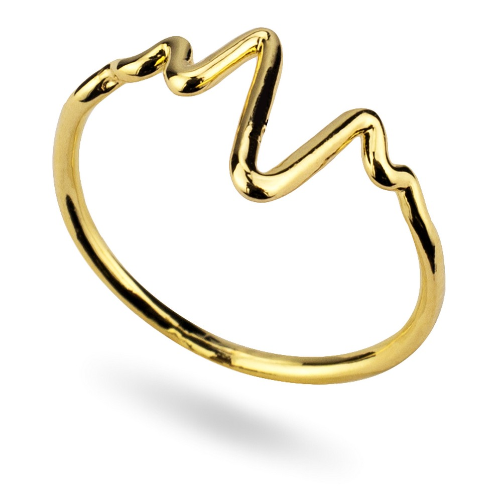 Ring Heartbeat Made With Tin Alloy by JOE COOL