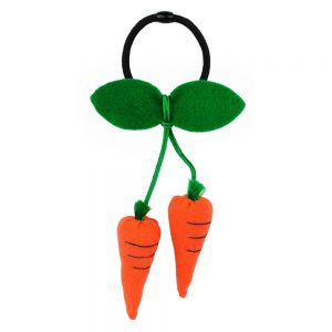Hairwear Carrot Bunch Made With Cotton by JOE COOL