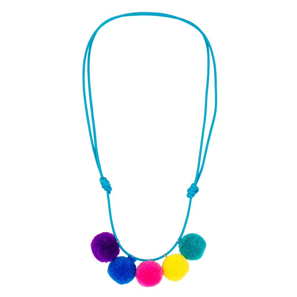 Necklace Pompom Made With Cotton by JOE COOL