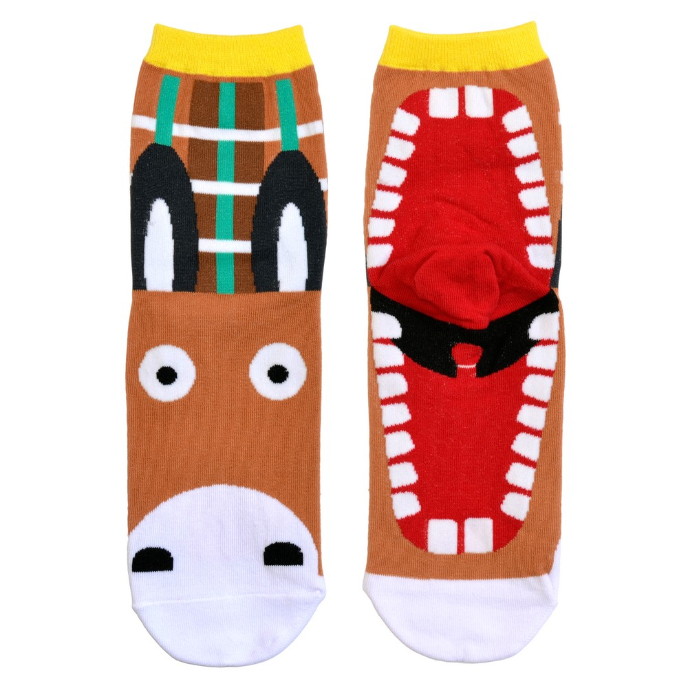 Socks Fairytale Creatures Donkey Made With Cotton & Spandex by JOE COOL