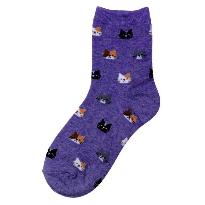 Socks Dream Cat Made With Cotton & Spandex by JOE COOL
