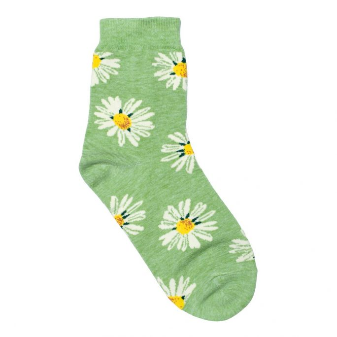 Socks Daisies Made With Cotton & Spandex by JOE COOL