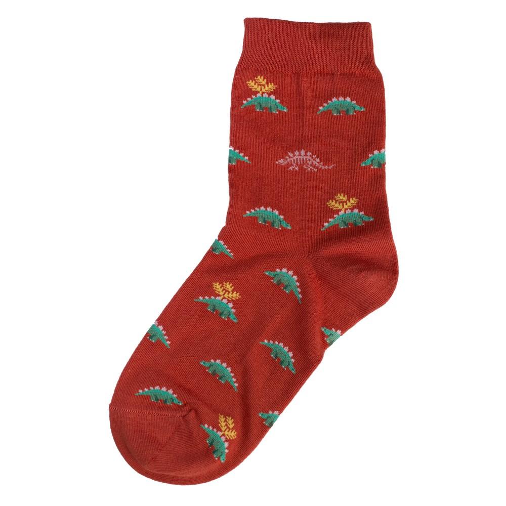 Socks Stegosaurus Made With Cotton & Spandex by JOE COOL