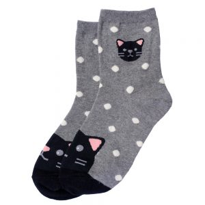 Socks Toe Cat Made With Cotton & Spandex by JOE COOL