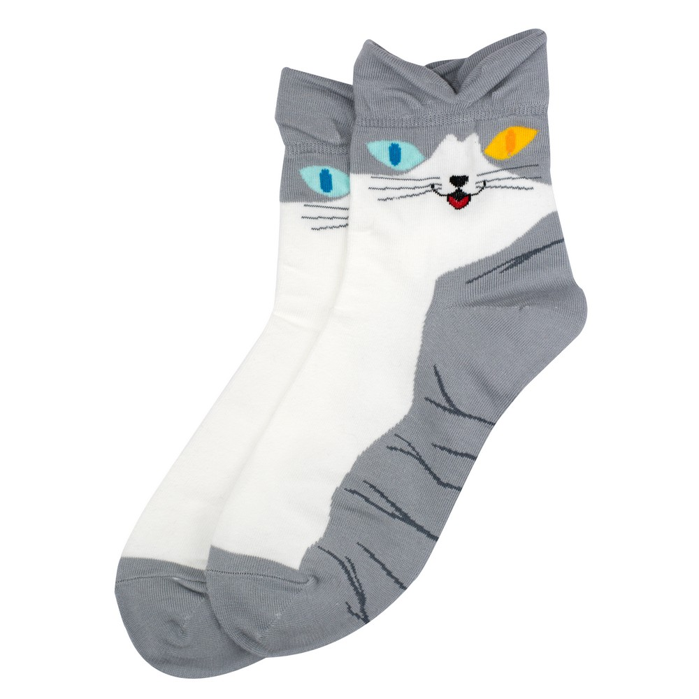 Socks Cats Eye Made With Cotton & Spandex by JOE COOL