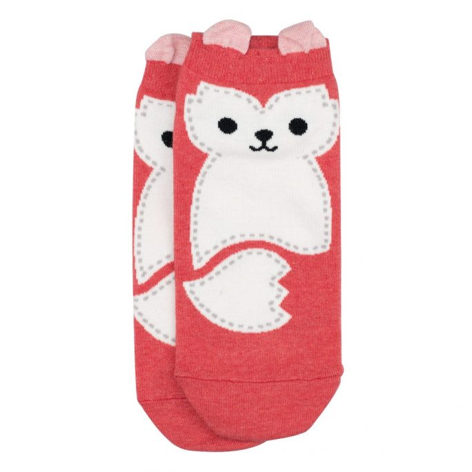 Socks Ankle Stitched Fox Made With Cotton & Spandex by JOE COOL