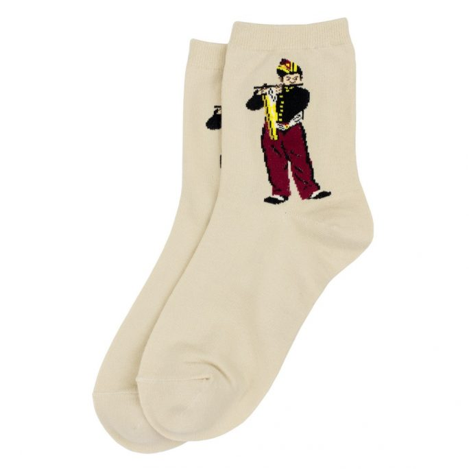 Socks Manet Le Fifre Made With Cotton & Spandex by JOE COOL