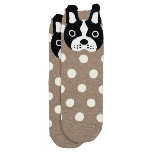 Socks Spotty Dog Made With Cotton & Spandex by JOE COOL