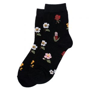 Socks Flora Made With Cotton & Spandex by JOE COOL