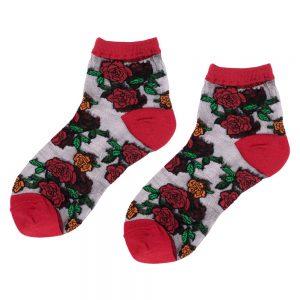 Socks Sheer Rose Made With Nylon & Spandex by JOE COOL