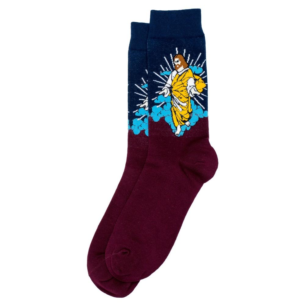 Socks Gents Jesus Christ Made With Cotton & Nylon by JOE COOL