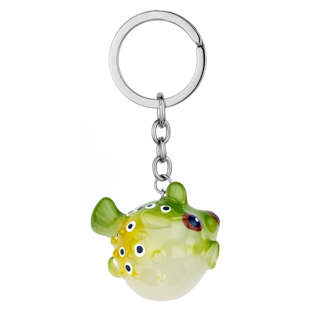 Keyring Puffer Fish Made With Resin by JOE COOL