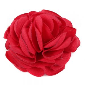 Brooch & Hairwear Fabric Rose Made With Polyester by JOE COOL