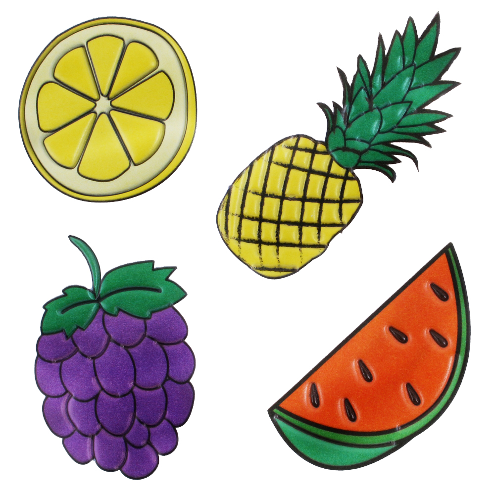 Gift Multi-purpose Vinyl Sticker Fruit Set Made With Pvc by JOE COOL