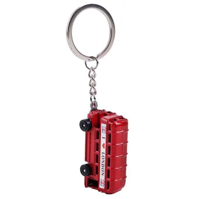 Keyring London Bus Made With Zinc Alloy by JOE COOL