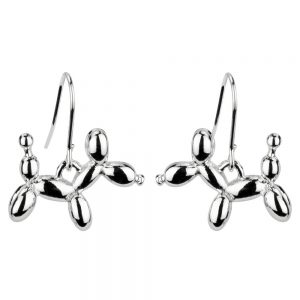 Drop Earring Balloon Animals Made With Tin Alloy by JOE COOL