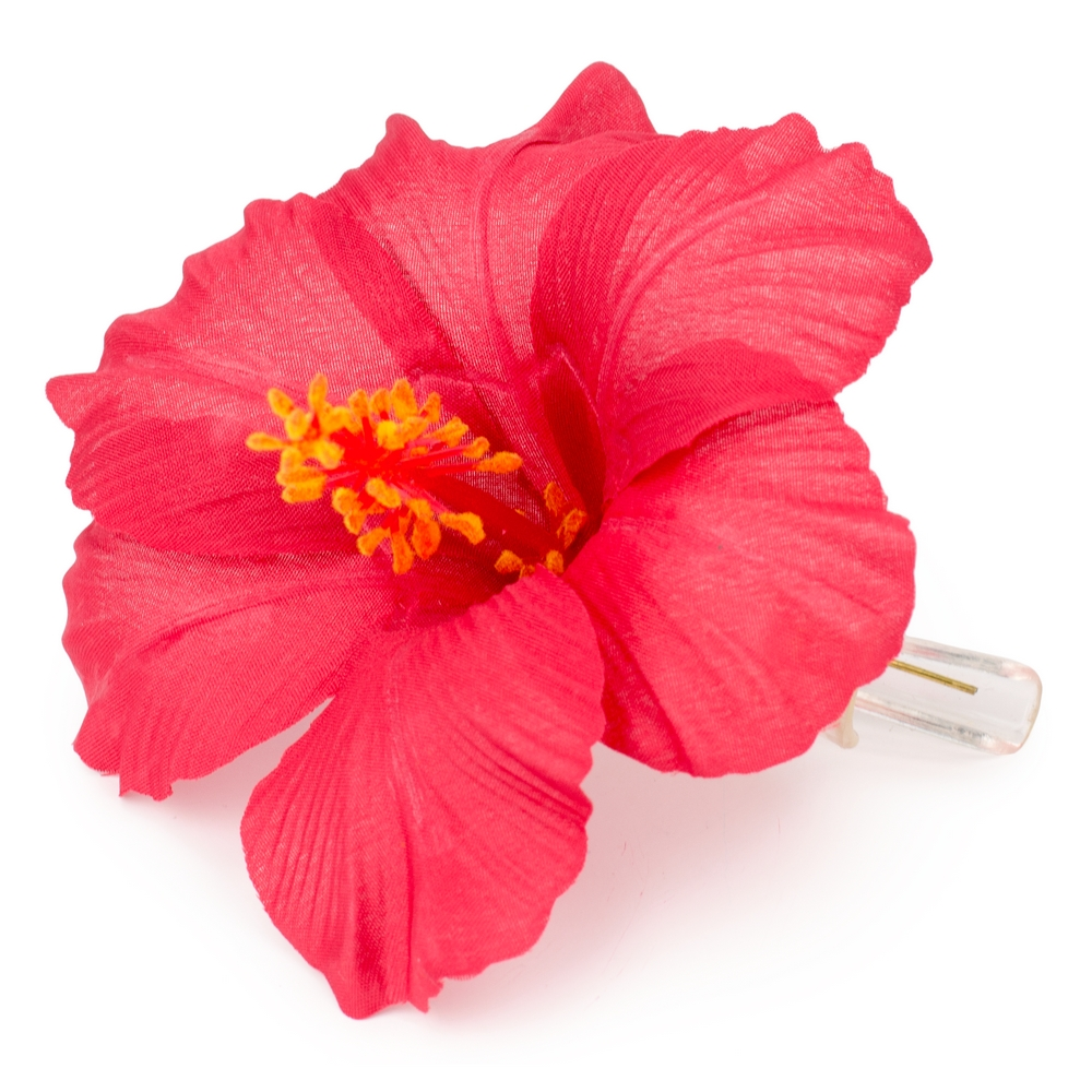 Hair Grip Hibiscus Made With Polyester by JOE COOL