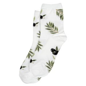 Socks Olive Branch Made With Cotton & Spandex by JOE COOL