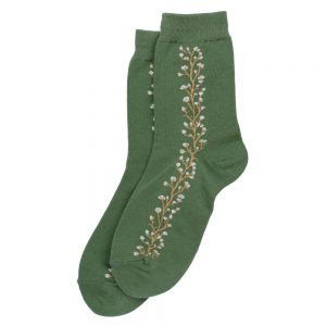 Socks Flower Line Made With Cotton & Spandex by JOE COOL