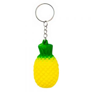 Keyring Stress Ball Pineapple Made With Foam by JOE COOL