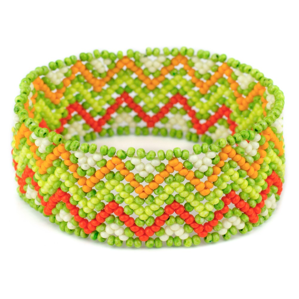 Bracelet Zigzag Made With Bead by JOE COOL
