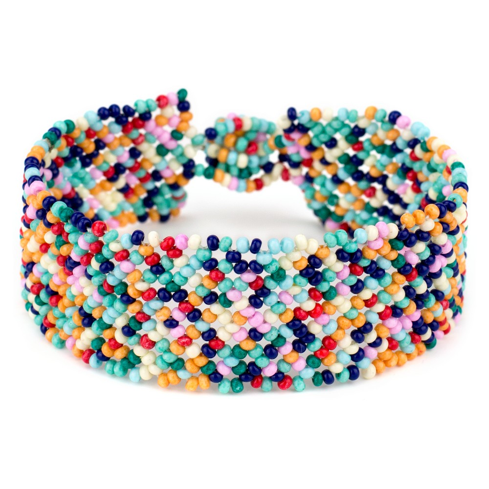 Bracelet Woven Made With Bead by JOE COOL