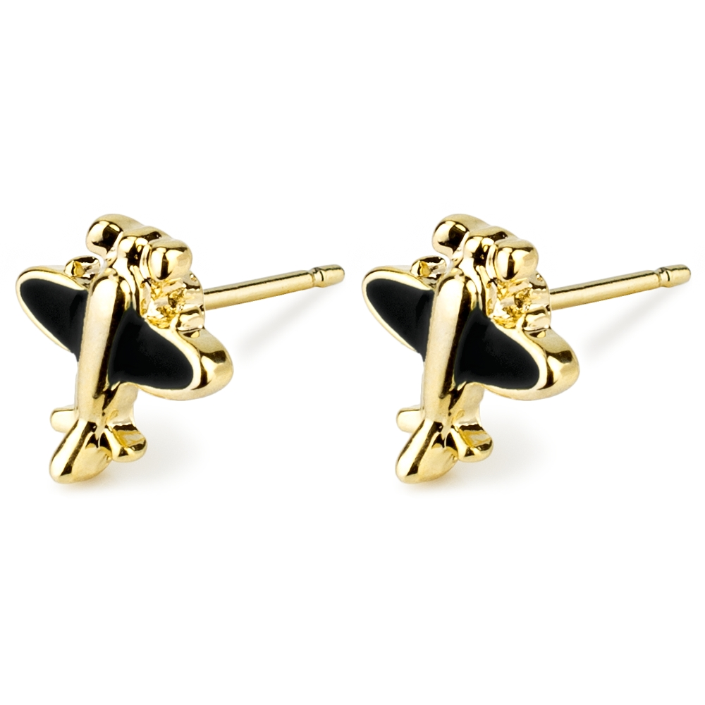 Stud Earring Spitfire Made With Tin Alloy by JOE COOL
