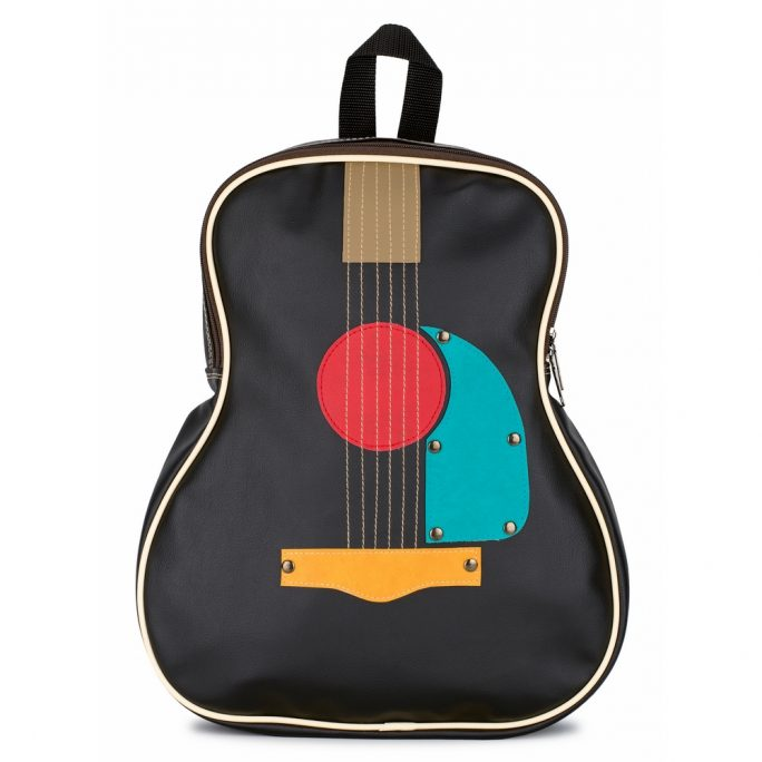 Back-pack Guitar Made With Faux Leather by JOE COOL