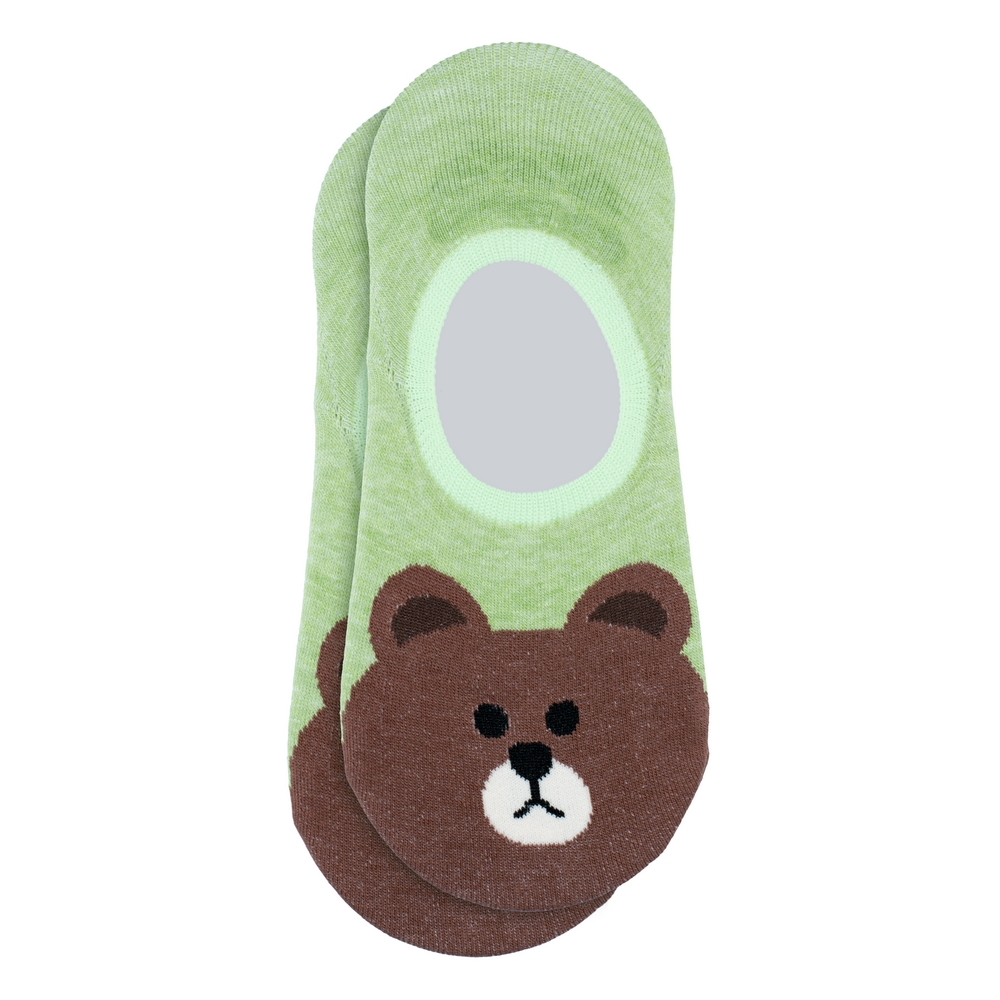 Socks No-show Teddy Bear Made With Cotton & Spandex by JOE COOL