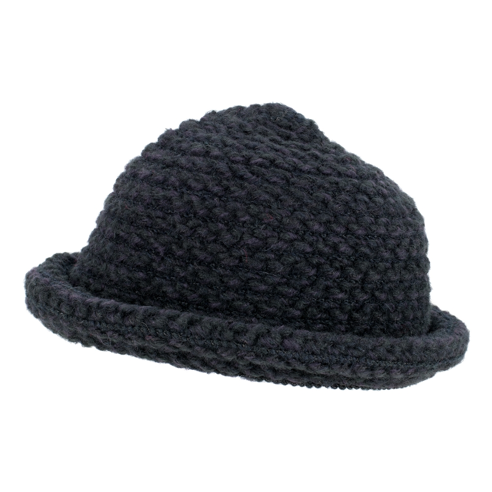 Hat Roll Brim Knit Made With Acrylic by JOE COOL