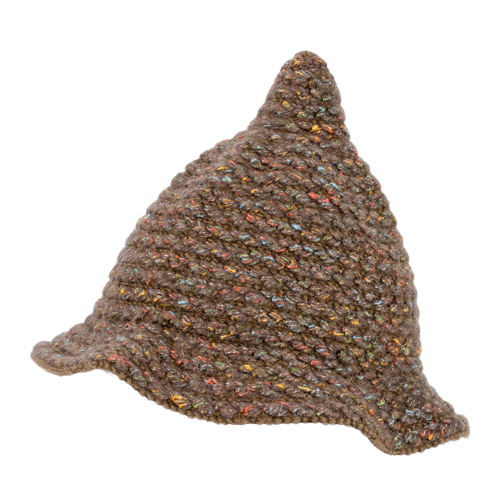 Hat Pixie Speckle Knit Made With Acrylic by JOE COOL