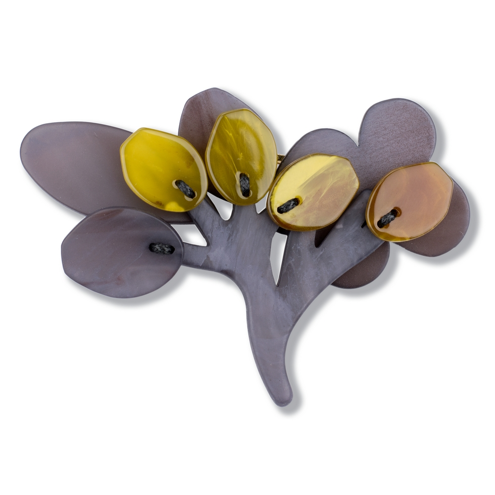 Brooch Branching Out Made With Acrylic by JOE COOL