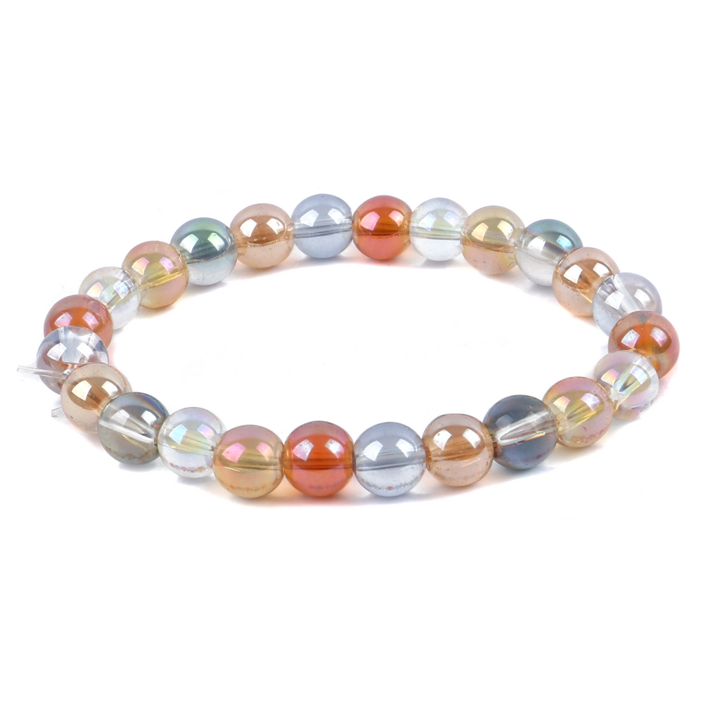 Bracelet Rich 8mm Made With Glass by JOE COOL