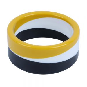 Bangle Trisect Made With Resin by JOE COOL