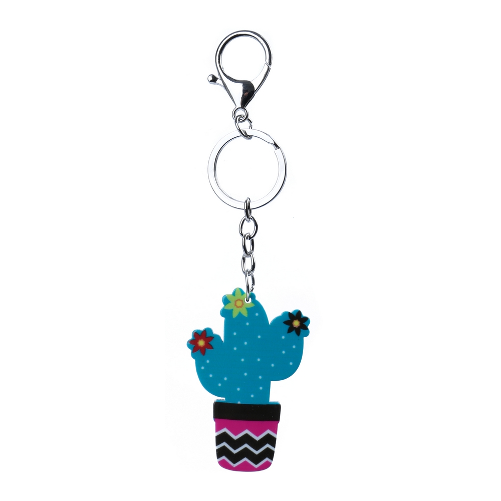 Keyring Cactus In A Pod Made With Acrylic by JOE COOL