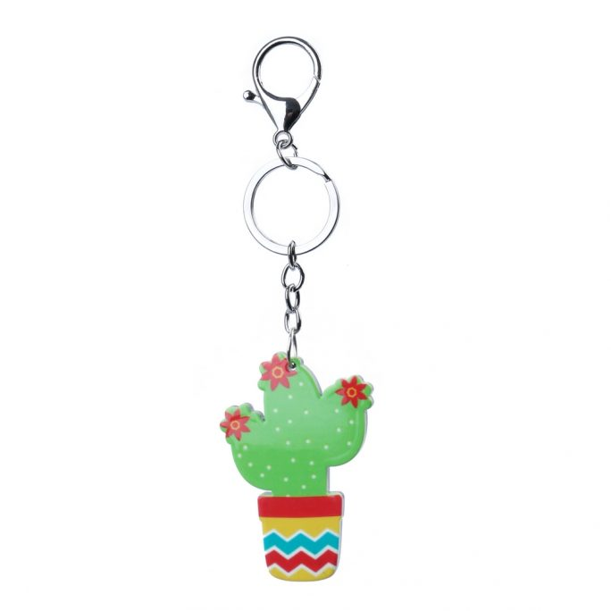 Keyring Cactus Made With Acrylic by JOE COOL