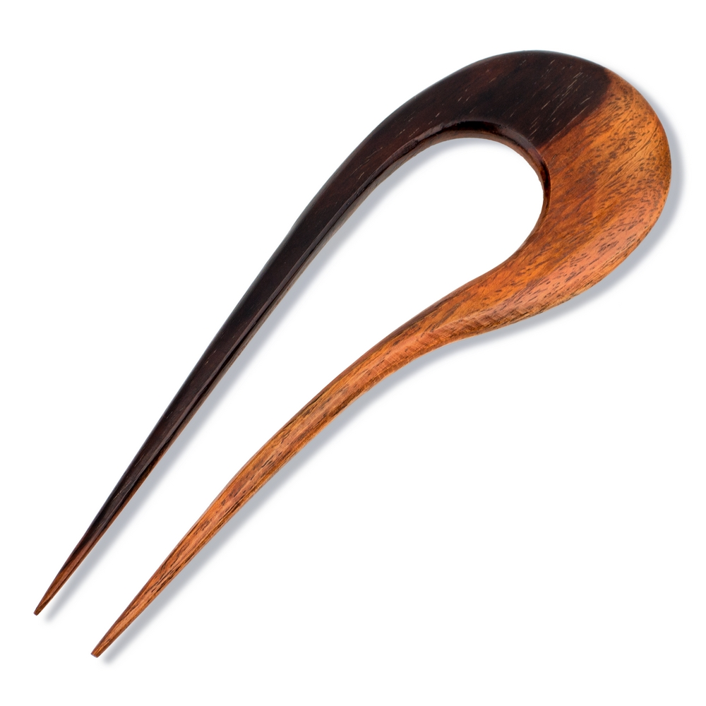 Hair Pin Contemporary Made With Wood by JOE COOL