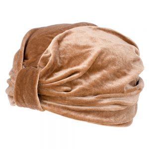 Hat Ruched Made With Velvet & Polyester by JOE COOL